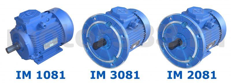 Электродвигатель АИР 132М8  5,5 кВт 750 об/мин